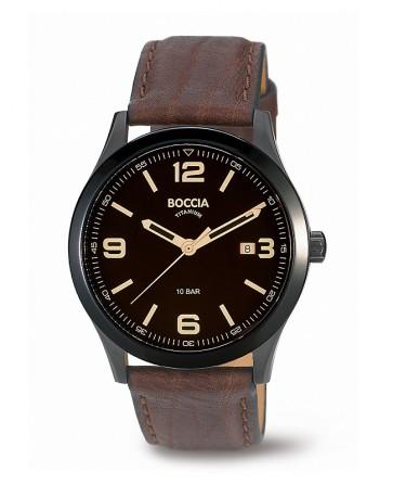 montre boccia titanium bracelet cuir