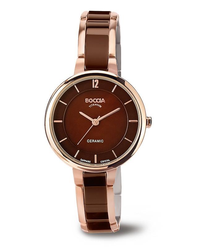 montre femme ne c ramique coup de coeur garanti les montres boccia titanium. Black Bedroom Furniture Sets. Home Design Ideas