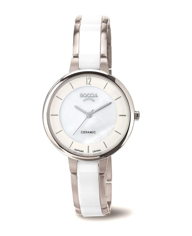 defd3c3bd84 Montre bracelet femme design Boccia Titanium