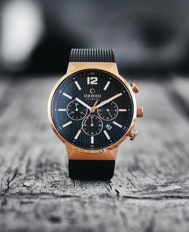 Préférence OBAKU | Montre chrono homme originale et design . BP17
