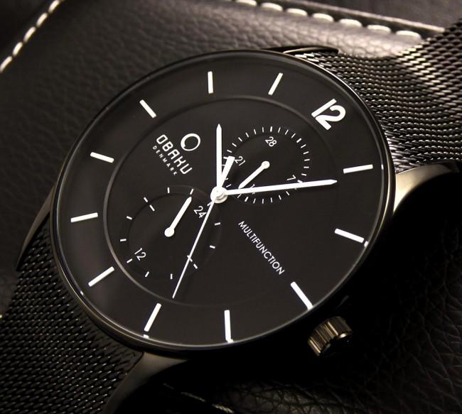 Gut bekannt Montre Homme noire, collection design et moderne pour homme XP47