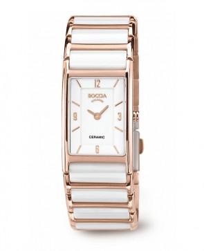 Bracelet montre dame céramique blanche