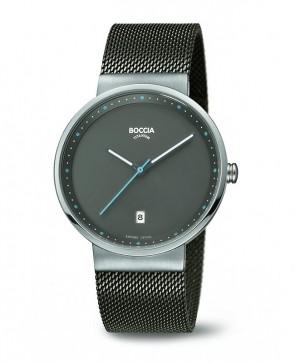 Montre design avec bracelet Milanais
