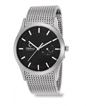 Montre homme maille Milanaise