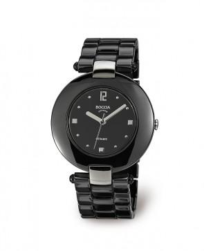 Bracelet montre céramique noire