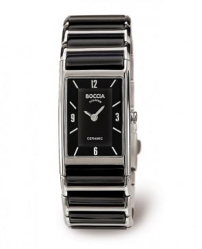 Bracelet montre dame céramique noire