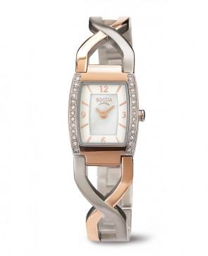 Bracelet montre en Titane et cristaux, un bijou !