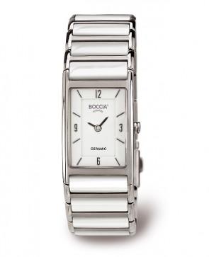 Bracelet montre femme céramique blanche
