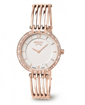 Bracelet montre femme Titane plaqué Or rose
