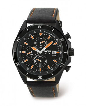 Chrono titane index orange